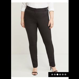 Lane Bryant plus size 24 Allie skinny pants